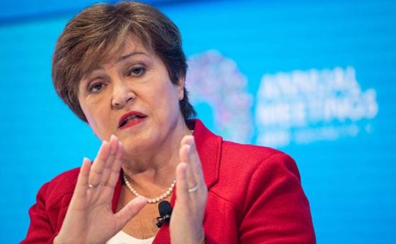 크리스탈리나 게오르기에바 IMF 총재. [로이터=연합뉴스]