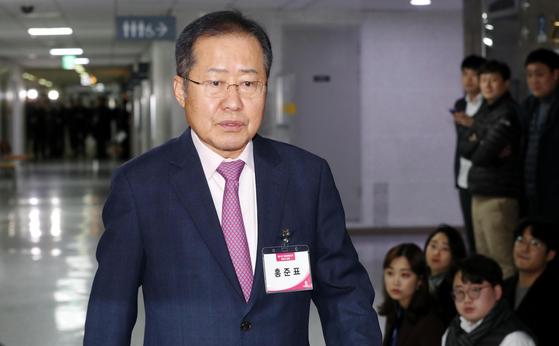 홍준표 자유한국당 전 대표. 임현동 기자