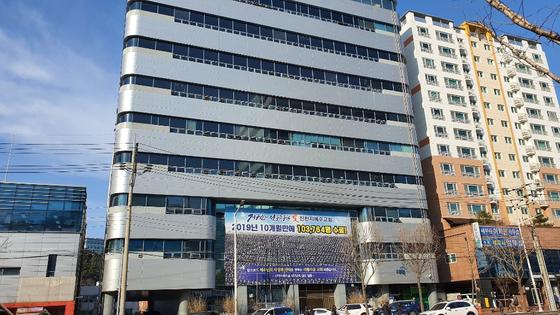 신천지 대구교회 모습. 신진호 기자