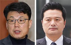 진성준(左), 김태우(右)