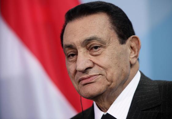 호스니 무바라크 전 이집트 대통령 [중앙포토]