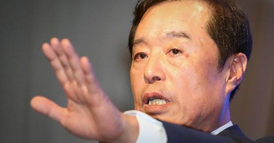김병준 전 자유한국당 비상대책위원장. 뉴스1