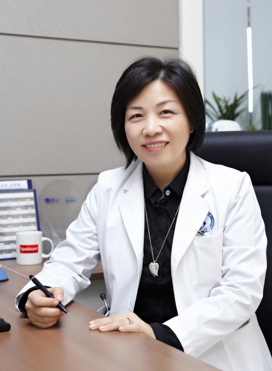 박해심 아주대병원 신임 의료원장. 아주대병원