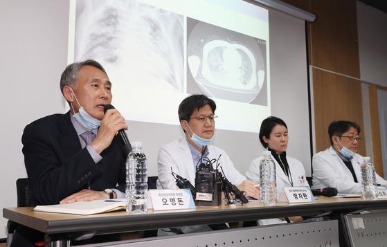 폐 사진 하얀데 환자 무증상…코로나 다른 폐렴과 매우 달라