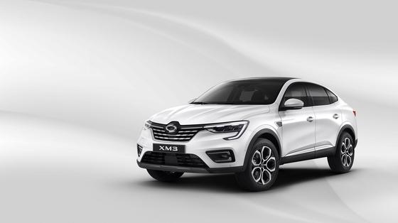 지난 21일 사전계약에 들어간 르노삼성의 신형 SUV인 XM3. 다음달 9일 출시한다. [사진 르노삼성]