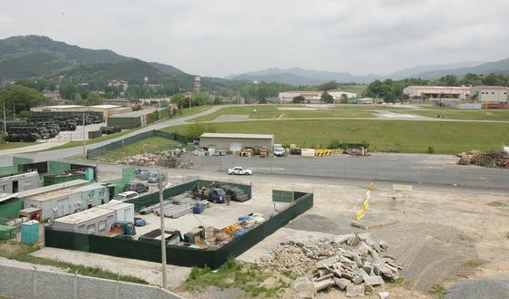 경북 칠곡군 왜관읍 캠프 캐럴. 중앙포토