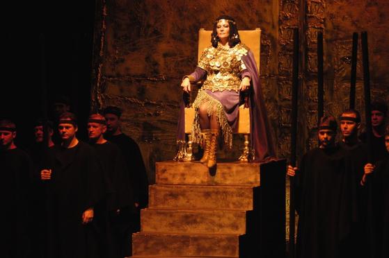 스스로 왕이 된 아비가일. [사진 Flickr]