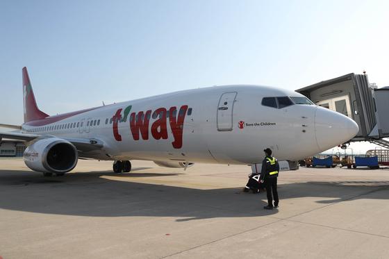 티웨이항공이 저비용항공사 처음으로 호주 시드니 노선을 신규 취항한다. 연합뉴스