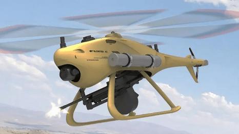 중국군 킬러로봇 블로우피시(Blowfish).