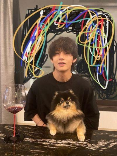 BTS 뷔가 강아지 입양 결심하고 찾아간 사람