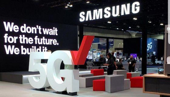 삼성전자는 5G 도입 초기부터 미국 버라이즌과 협업을 지속하고 있다. [사진 삼성전자 미국 뉴스룸]