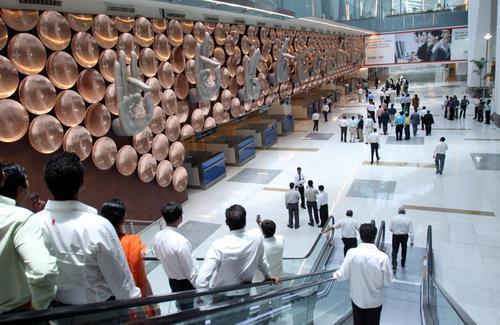 인도 뉴델리의 인디라 간디 국제공항. EPA=연합뉴스
