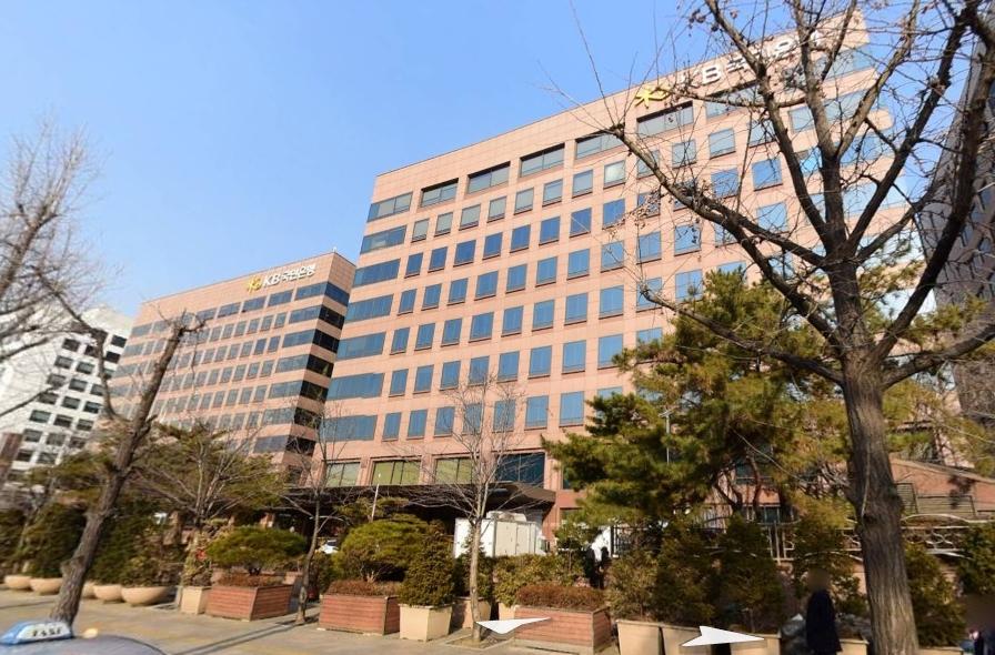 KB국민은행 서여의도영업부(오른쪽). 사진 네이버지도
