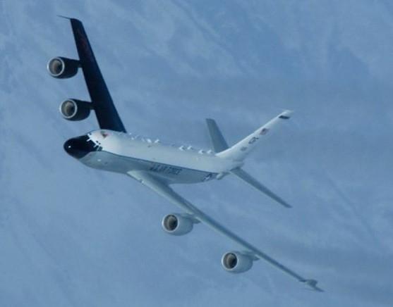 미국 공군의 특수정찰기인 RC-135S 코브라볼. [사진 미 공군]