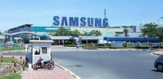 베트남 하노이 북부 박닌성에 위치한 삼성전자 스마트폰 생산 공장과 전기·디스플레이 공장. [뉴스1]