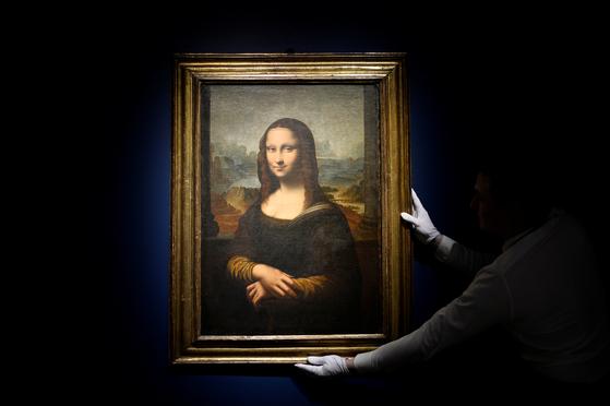 프랑스 루브르 박물관에 있는 모나리자 [로이터=연합뉴스]