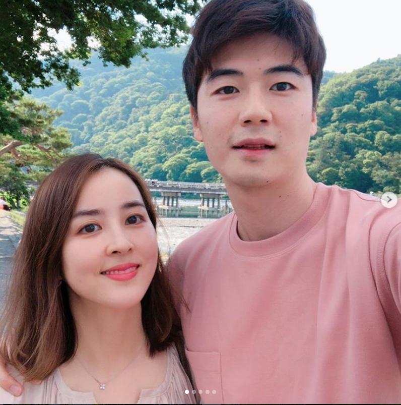 스페인 마요르카 미드필더 기성용과 그의 아내 배우 한혜진씨. [사진 기성용 한혜진 부부 인스타그램]