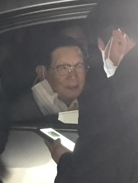이만희 신천지 총회장. 연합뉴스