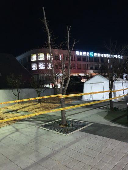 근로복지공단 대구병원 모습. [사진 김미래]