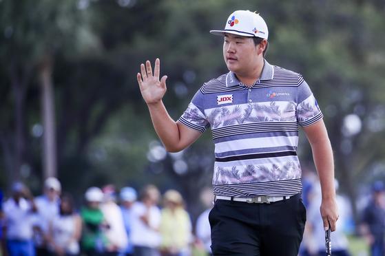 PGA 투어 혼다 클래식에서 개인 첫 우승을 거둔 임성재. [AP=연합뉴스]