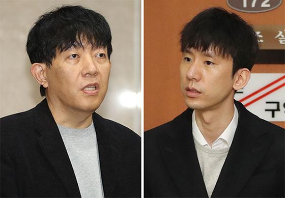 이재웅(左), 박재욱(右). [연합뉴스]
