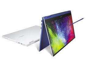 갤럭시 북 플렉스는 향후 태블릿 제품과 노트북 제품의 방향을 제시해주는 투인원 제품이다.
