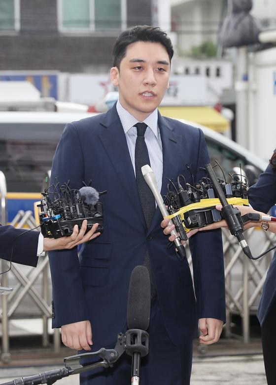 빅뱅의 전 멤버 승리. 연합뉴스