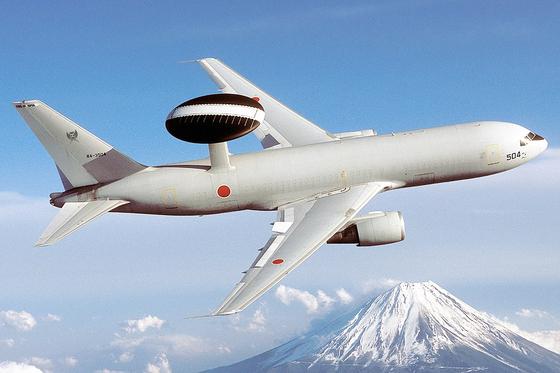 일본은 항공자위대 조기경보기(E-767)를 대북제재 감시에 투입한다. [사진=일본 항공자위대]