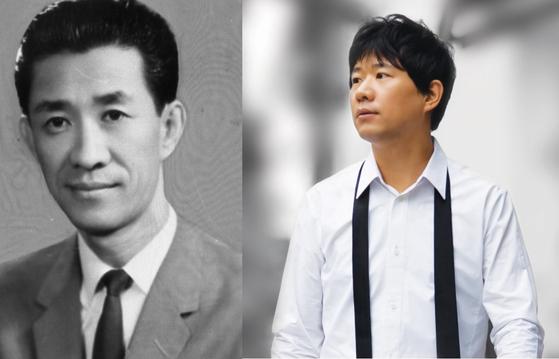 6일 작곡가 나화랑(본명 조광환, 1921~1983)의 경북 김천 생가가 문화재로 등록됐다. 오른쪽은 그의 아들 조규찬의 앨범 자켓 사진. 중앙포토
