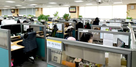 공공 콜센터인 서울시 다산120 콜센터 모습. 뉴스1(서울시 제공), 사진은 기사 내용과 관련없음.