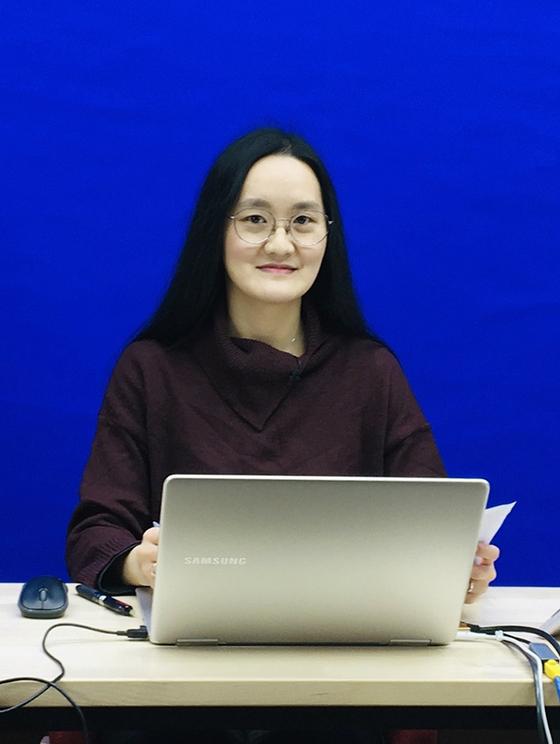 소프트웨어디자인융합스쿨 산업디자인전공 '기초산업디자인' 과목 강의중인 장지수 교수
