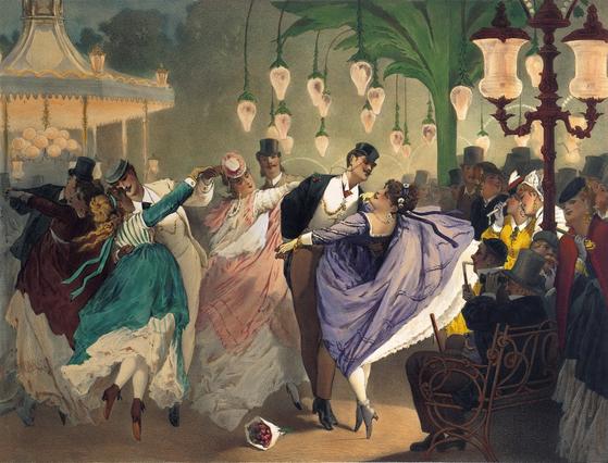 우리나라 사람들은 남 보기에 화려해야 춤을 잘 춘다고 생각한다. 그러나 베이직 스텝만 잘 해도 멋지게 출 수 있다. [사진 Flickr]