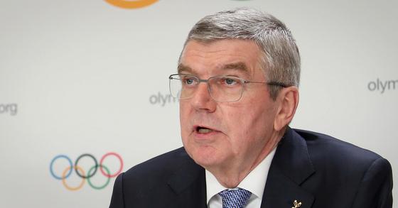 토마스 바흐 국제올림픽위원회(IOC) 위원장. [사진 문화체육관광부]
