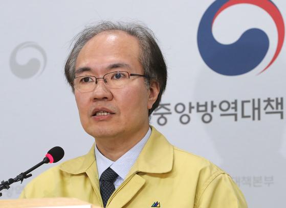 권준욱 질병관리본부 중앙방역대책본부 부본부장(국립보건연구원장). 연합뉴스
