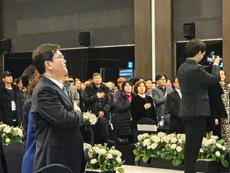 문희상 국회의장의 아들 문석균씨의 북콘서트가 1월 11일 의정부 신한대 에벤에셀관에서 열렸다. 한영익 기자