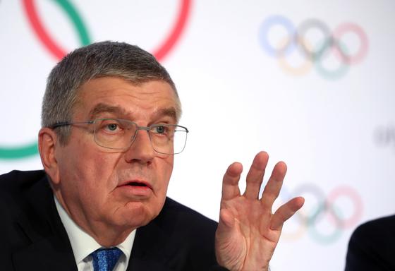 토마스 바흐 IOC 위원장. [로이터=연합뉴스]