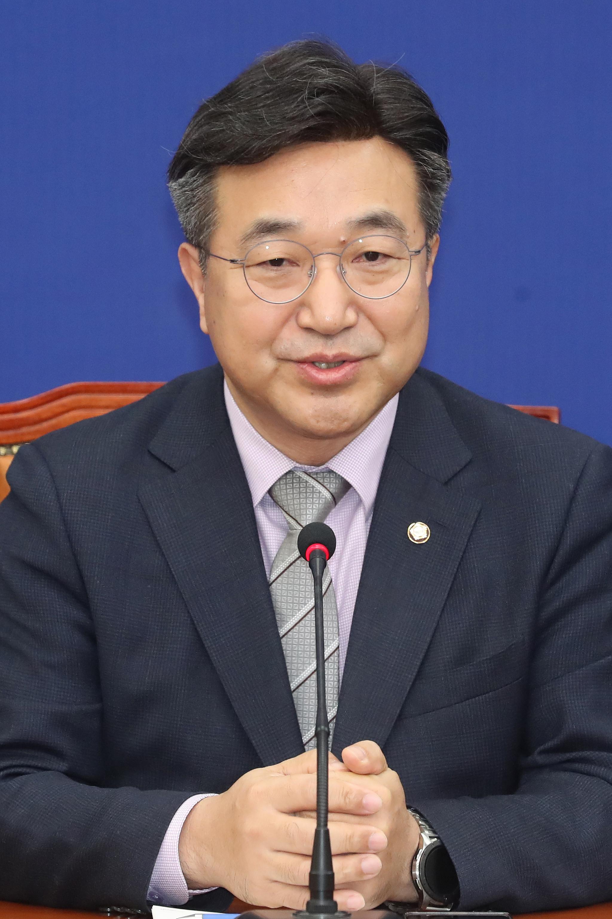 윤호중 더불어민주당 사무총장. 뉴스1