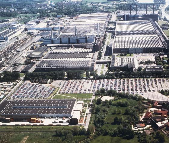 독일 볼프스부르크에 있는 폴크스바겐 본사와 공장 전경. 중앙포토