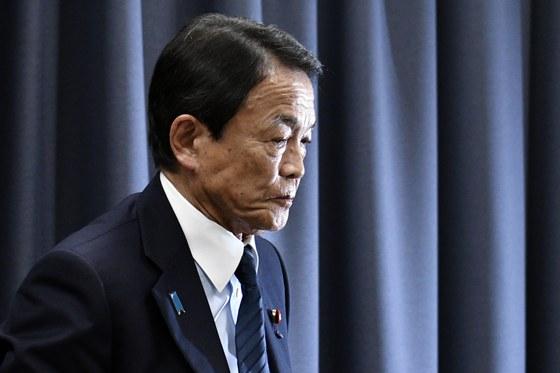 일본 정부의 망언제조기로 불리는 아소 다로 일본 재무상이 이틀 연속으로 설화를 일으켰다. [EPA=연합뉴스]
