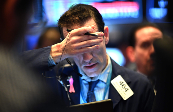 18일(현지시간) 미국 뉴욕증권거래소(NYSE). 연합뉴스