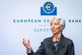 크리스틴 라가르드 유럽중앙은행(ECB) 총재가 7500억 유로 규모 새로운 양적 완화(QE)를 발표했다.