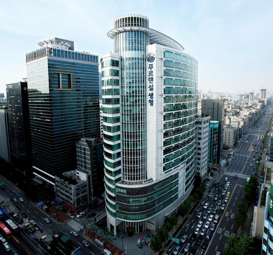 서울 강남구 푸르덴셜생명 본사 건물. [푸르덴셜생명]