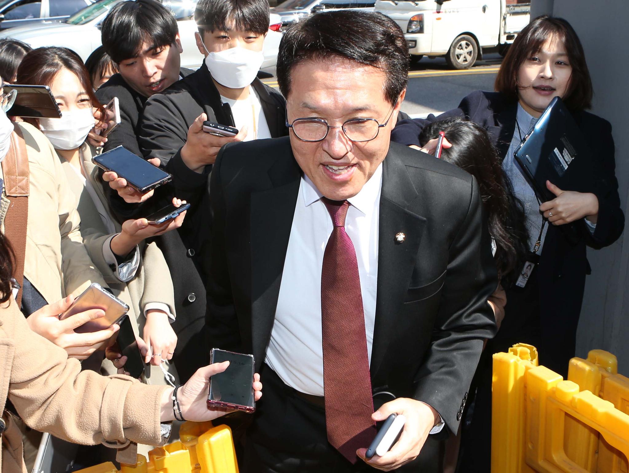 미래한국당 정운천 최고위원. 오종택 기자
