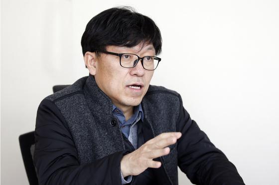 하승수 정치개혁연합 집행위원장. 변선구 기자