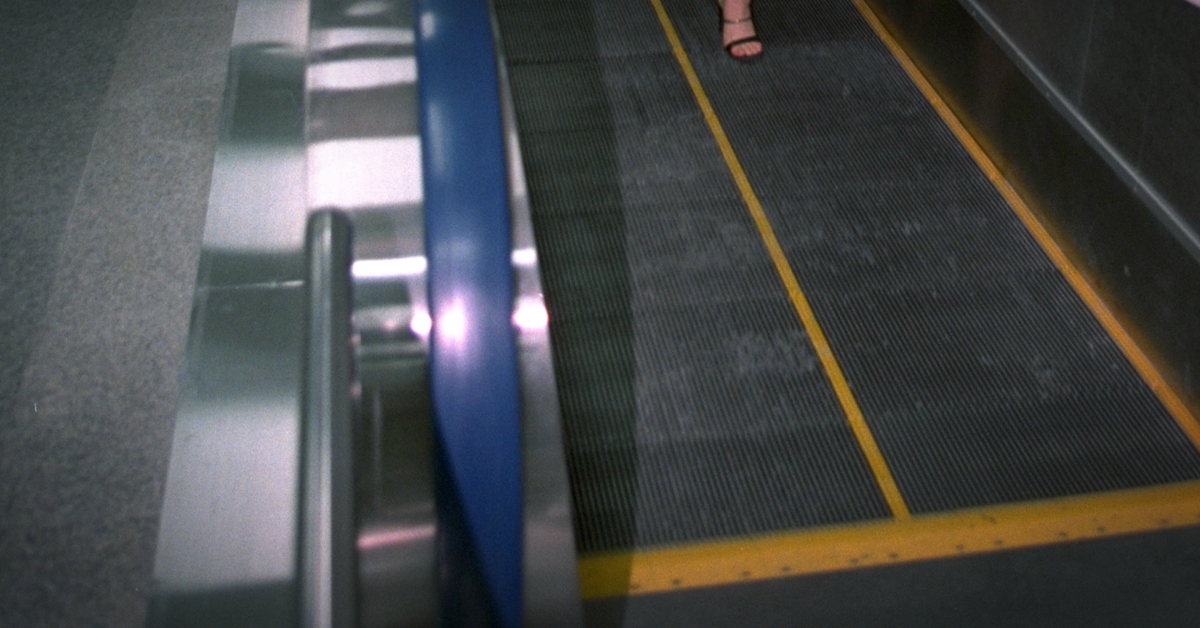 한 지하철역 내부 무빙워크. 중앙포토
