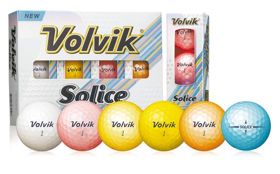 ㈜볼빅의 신제품 골프공 '솔리체(Solice)'는 하이 글로시 3중 나노 코팅으로 비행 시 빛의 양에 따라 우아한 색감을 발산한다. [사진 ㈜볼빅]