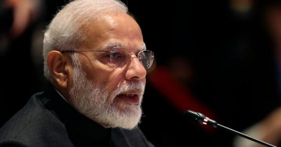 22일엔 집에 있자 인도 모디 총리 자발적 통행 금지 요청