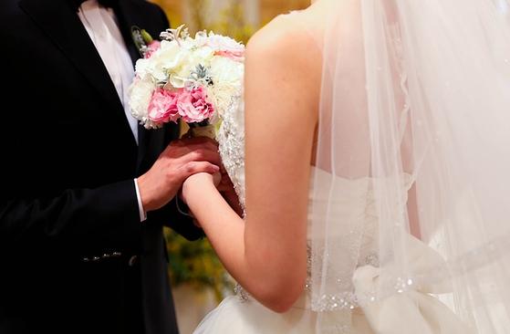 결혼식 이미지. [사진 pixabay]