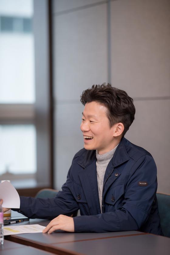 이기영 드림어스컴퍼니 대표가 19일 서울 강남구 플로하우스에서 본지와 인터뷰하고 있다. [사진 드림어스컴퍼니]