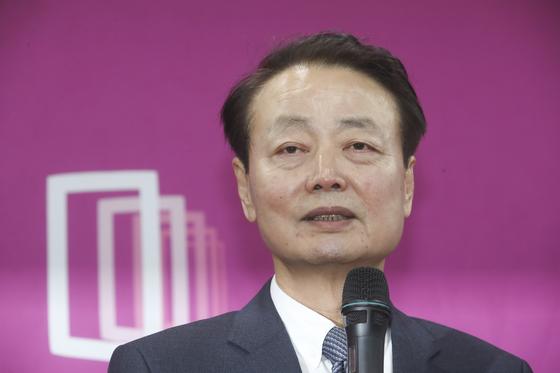 한선교 전 미래한국당 대표. 임현동 기자
